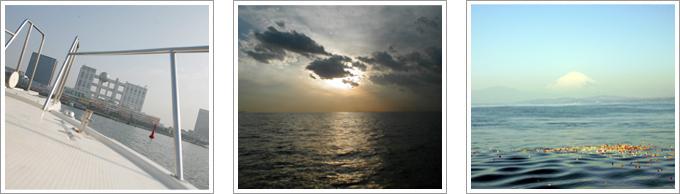 合同乗船散骨イメージ写真