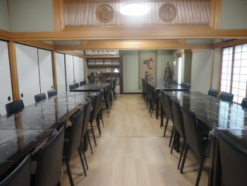 千松閣 控室